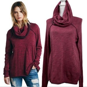 Free People Beach Cocoon Pullover Sweater One size